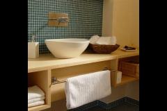 Waschtisch im Gäste WC, Holzart europ. Ahorn