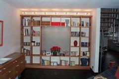 Bücherregal in amerikanisch Kirschbaum
